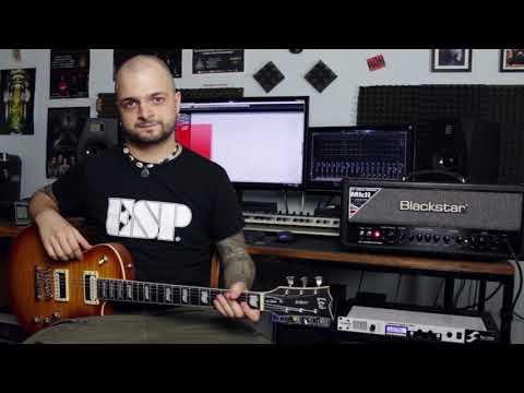 Három ESP/LTD gitár, három pickup szet