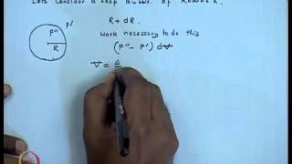 Mod-01 Lec-05 Effect Surface Tension : Laplace Pressure