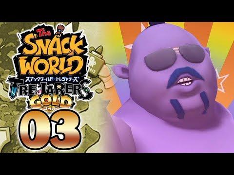 SNACK WORLD TREJARERS GOLD #03 - LE JEU DEVIENT GÊNANT...