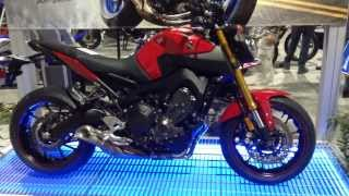 9. 2014 Yamaha FZ-09 Triple Motorcycle