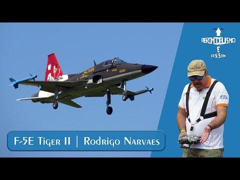 Voo do F-5 Tiger II no Fesbraer...