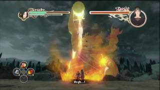 Naruto Shippuden: Ultimate Ninja Storm 2 - Sasuke Vs Itachi Final Boss Fight (Japanese) HD