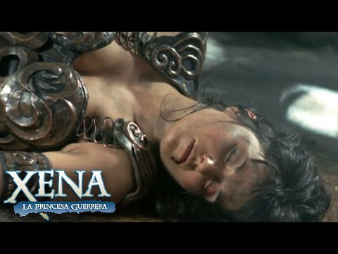Xena pierde el combate contra Najara   Xena: La Princesa Guerrera