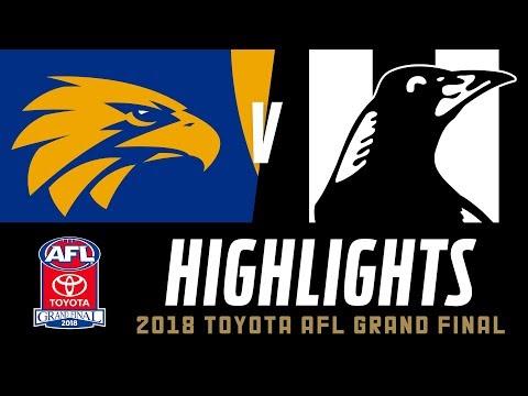 West Coast v Collingwood Highlights | 2018 Toyota AFL Grand Final | AFL