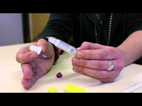 Naloxone nasal spray demonstration