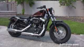 10. New 2014 Harley Davidson 1200 Sportster Forty Eight Review 48