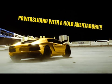 Lamborghini Aventador LP 700 4   Project AU.79 Gold Custom Edition | Video