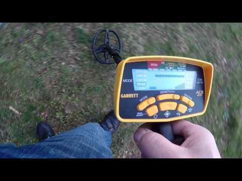 Garrett Ace 400 Review and Depth Test