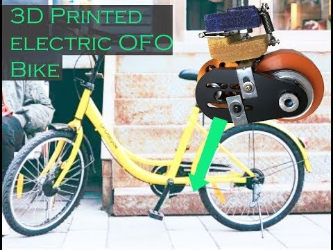3D Printed Electric OFO Bike Mod