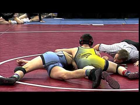 wrestling - 2014 Iowa High School State Wrestling Championship Highlights 2/22/14.