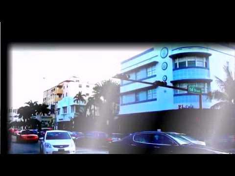 Travel around the world  Miami, Florida  Art Deco  in South Beach