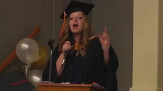 Wath Young Mother Gives Valedictorian Speech