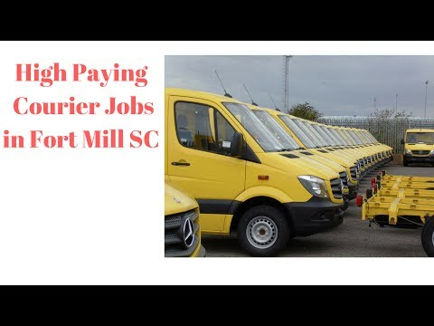 Courier Jobs in Fort Mill SC