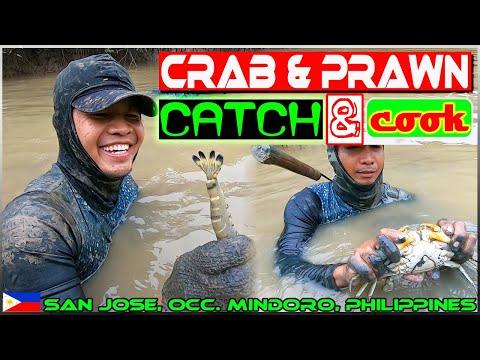 EP126 - Seafood Mukbang | Crabs and Prawns Catch 'n Cook | Occ. Mindoro