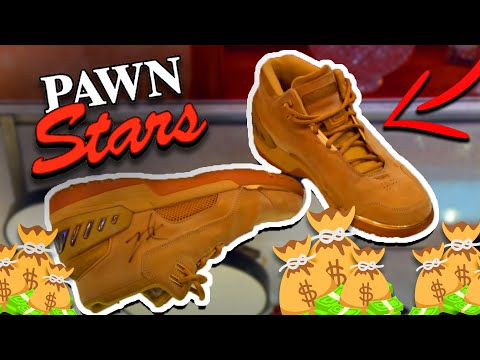 The Most EXPENSIVE Shoes ever Bough on Pawn Stars!🤯