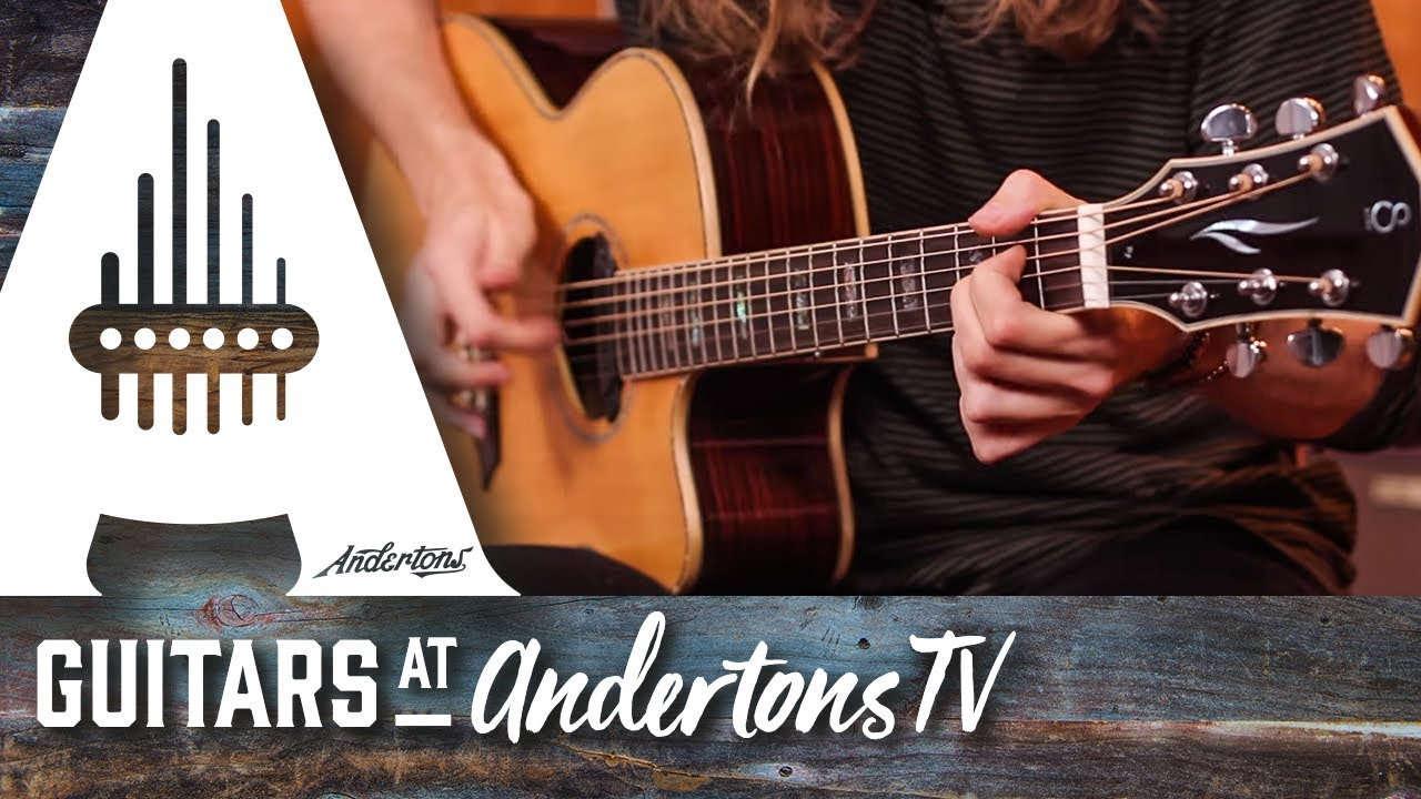 Sire R7 Zebra 7 Grand Auditorium Acoustic Guitar Demo with Mike Dawes