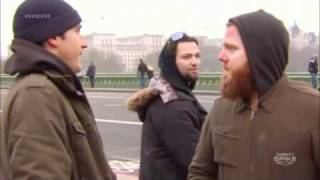 Bam Margera Drop-Kicking Ryan Dunn In London