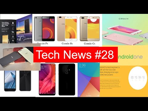 Tech News #28 Redmi Note 5A, Note 8 Leaks, MI A1, Mi 5X, Android One, Comio,, Android Oreo