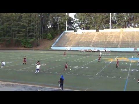 Chamblee Bulldogs Boys Varsity Soccer vs. Grady Knights - 4/19/2016