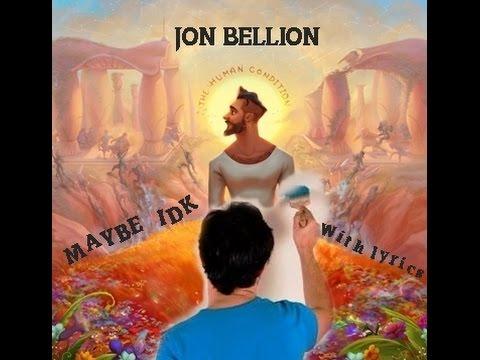 download jon bellion maybe idk