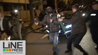 Evry France  city pictures gallery : Directeur Police Nationale pris à partie par des policiers / Evry (91) - France 19 octobre 2016