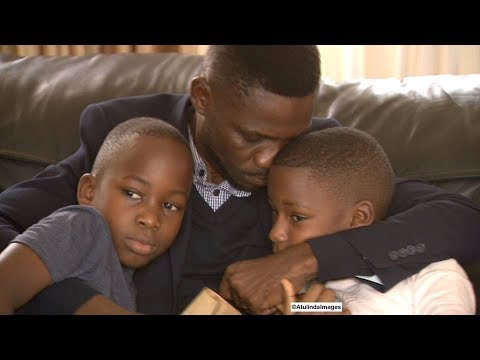 Bobi Wine Cries when re-uniting with his wife, Barbie and children