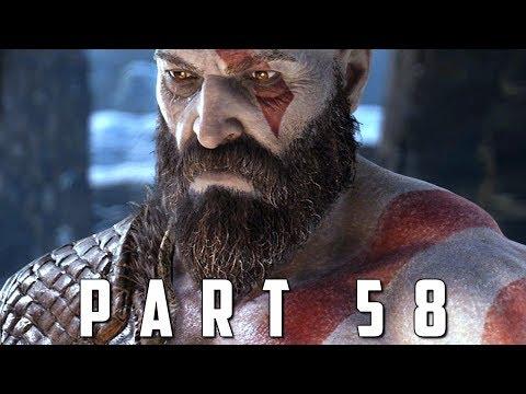 GOD OF WAR Walkthrough Gameplay Part 58 - IVALDI'S CURSE / OLRUN VALKYRIE (God of War 4)