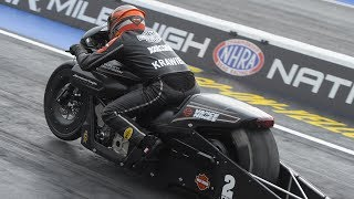 Eddie Krawiec finished atop the Pro Stock Motorcycle field with a 7.145 pass at 188.28 in his Screamin' Eagle Vance & Hines Harley-Davidson to defeat Matt Smith in the final round. Facebook: https://www.facebook.com/NHRATwitter: @NHRA: https://twitter.com/NHRA Instagram: @NHRA: http://instagram.com/nhraSnapchat: @NHRATumblr: @NHRAOfficialNHRA ALL ACCESS Live Stream: http://bit.ly/nhraallaccess