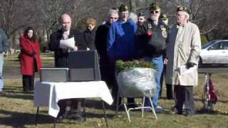 Milford (CT) United States  city pictures gallery : Wreaths Across America 2008: Milford, CT (Video 1 of 2)