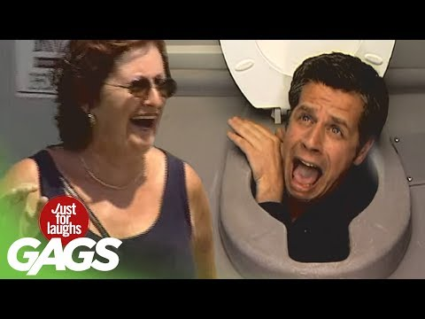Head In Toilet Prank – Disgusting!