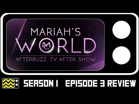Mariah's World Season 1 Episode 3 Review w/ G. Madison   AfterBuzz TV