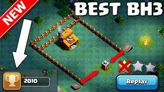 Video Clash of Clans | NEW BEST BH3 BASE (Replays @2k+ Trophies) - Builder Hall 3 Base w/Proof + Replays MP3, 3GP, MP4, WEBM, AVI, FLV Mei 2017