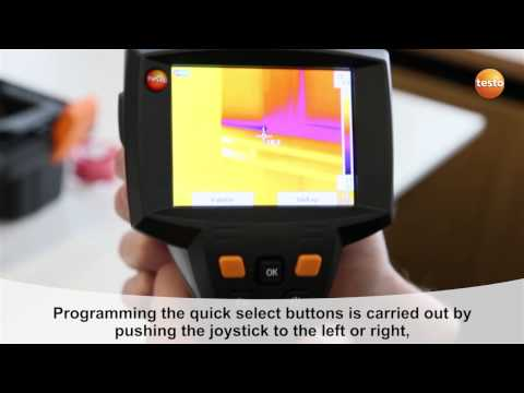 testo 875i - Step 04 - How to Programme the quick select but
