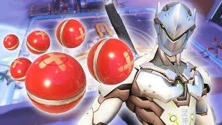 Video Renvoyer 100 grenades avec Genji - Défi ping pong Overwatch MP3, 3GP, MP4, WEBM, AVI, FLV Mei 2017