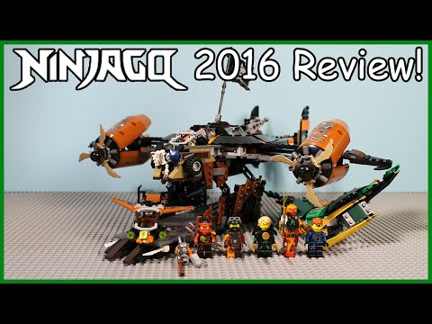 LEGO Ninjago Misfortune's Keep Review - LEGO Set 70605 [2016 Skybound]