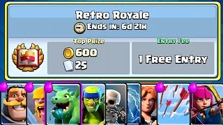 Clash Royale - RETRO ROYALE! New Special Event