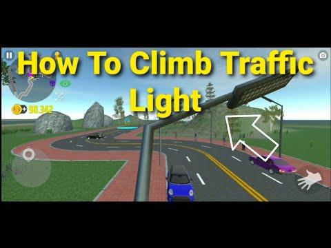 Car Simulator 2 Climbing The Traffic Light Pole Best Snipper Spot