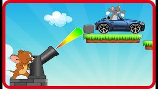 Tom and Jerry Online Games - Episode Bombing Tom Cat Levels 1-8 - Cartoon Games, tom and jerry, phim hoạt hình tom and jerry