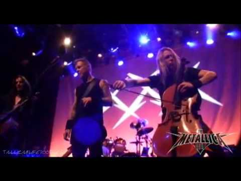 Metallica with Apocalyptica No leaf clover