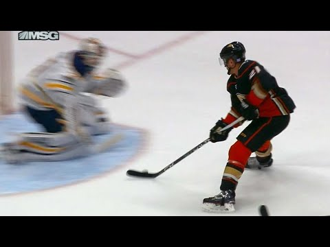 Video: Wagner streaks in to score short-handed breakaway on Sabres