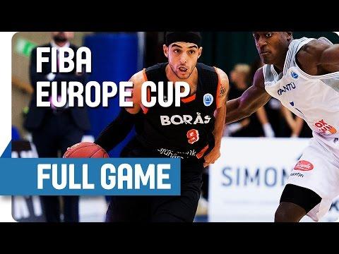 Boras Basket-Cantu 101-81 (27.10.15, FIBA Europe Cup, No9 black, 32pts, 8ast.)