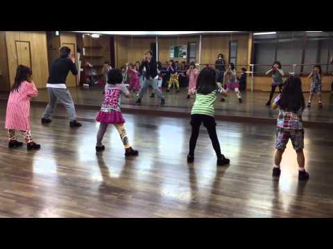 長尾台小学校 ダンススクール Mcrew Dance Studio ファイトソング 20150409