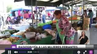 Radiografía de las MUjeres Feriantes. Mega, Ahora Noticias