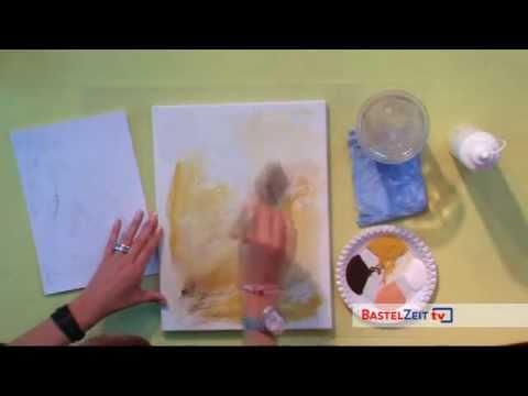 Bastelzeit TV 38 - Stillleben in Acryl mit Petra Habenstein