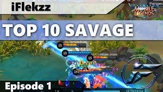 Video ONE SHOT INSTANT SAVAGE?! TOP 10 SAVAGES #1 MOBILE LEGENDS MP3, 3GP, MP4, WEBM, AVI, FLV Oktober 2017