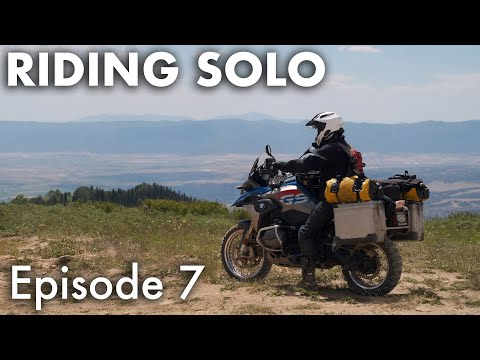 Riding Solo 7 - Reservoir Camping and Cooking in Idaho
