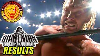Video NJPW DOMINION 2018 REVIEW & RESULTS! (Going in Raw Pro Wrestling Podcast) MP3, 3GP, MP4, WEBM, AVI, FLV Juni 2018