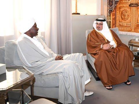 HRH CP receives outgoing Sudanese ambassador