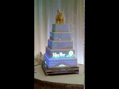 Свадебный торт со сказками Дисней (ведео)