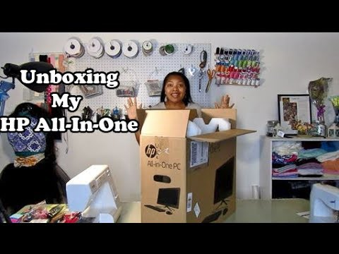 Unboxing My HP All-In-One!